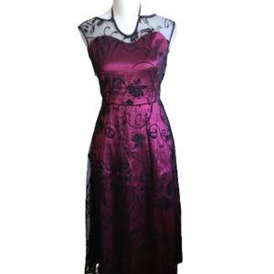 Acevog Lace Red Dress size M
